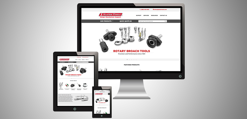 New Corporate Website from Slater Tools