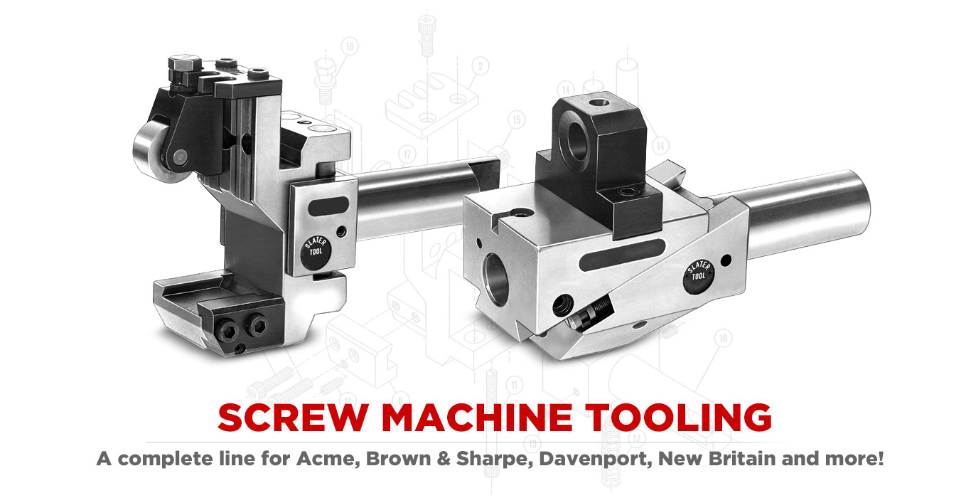 SCREW MACHINE TOOLING